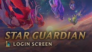 Star Guardians: Burning Bright   Login Screen - League of Legends
