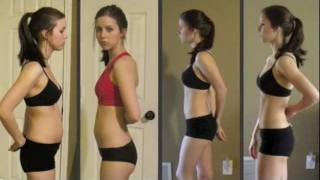 getlinkyoutube.com-Markie's 90 Day P90X Women's Transformation & 30 Day Brazil Butt Lift Results