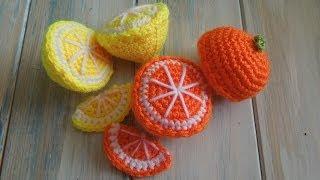 getlinkyoutube.com-(crochet) How To - Crochet an Orange Half - Yarn Scrap Friday