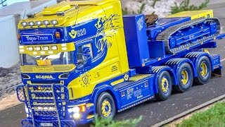 getlinkyoutube.com-BIG RC truck action! SCANIA and more! Stunning R/C trucks!