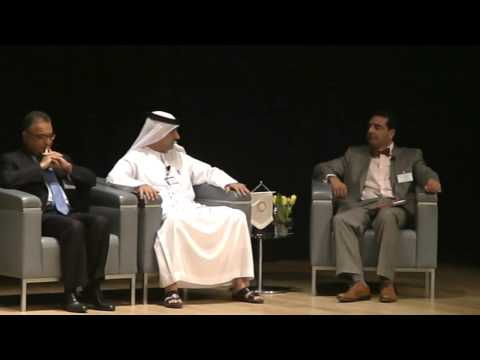 Dr. Tahir Akhtar-Chairman of Adam Global Moderating the world CEO Investment Conference
