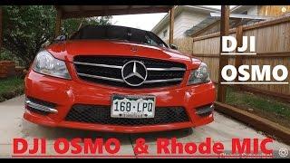 getlinkyoutube.com-DJI OSMO with Rhode Mic: AUDIO TEST