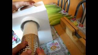 getlinkyoutube.com-ralo elétrico para milho verde higiênico novo modelo 2014