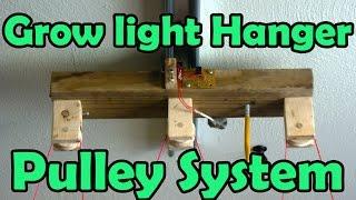 getlinkyoutube.com-Grow Light Hanger Pulley System