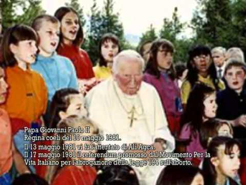 Il Papa della vita