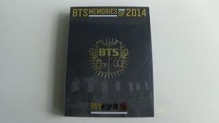 getlinkyoutube.com-Unboxing BTS (Bangtan Boys) 방탄소년단 MEMORIES OF 2014 DVD