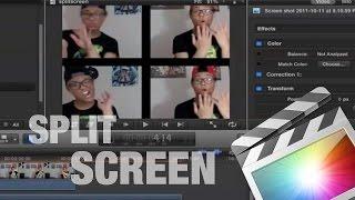 getlinkyoutube.com-How to Split Screen on Final Cut Pro X