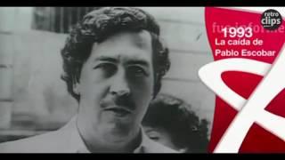 El fin de Pablo Escobar - 1993 Cartel de Medellín, Colombia