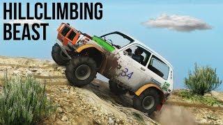 getlinkyoutube.com-BEST HILL CLIMBER EVER! OFF-ROAD 4X4 DIRT TRACK & MOUNTAIN CLIMB (GTA 5 PC Mods)