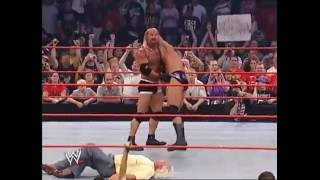 WWE Randy orton vs Goldberg Highlights width=