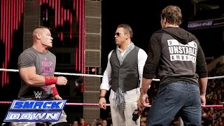 "getlinkyoutube.com-""Miz TV"" with special guests John Cena and Dean Ambrose: SmackDown, Oct. 10, 2014"