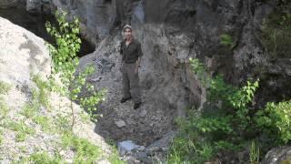 getlinkyoutube.com-Songo Pond Aquamarine Gem Quarry Mine  Albany Maine Van King.mov