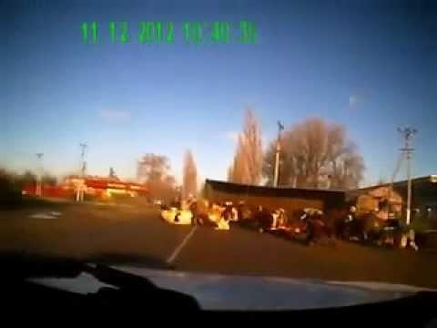 З вантажівки висипалось понад двадцять корів