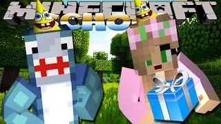 getlinkyoutube.com-Minecraft Adventures - Sharky & Scuba Steve - THE SCHOOL SECRET w/Little Kelly