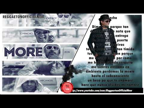 More (Con Letra) Zion Ft Jory,