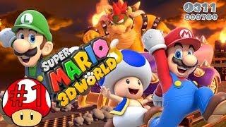 getlinkyoutube.com-ABM: Super Mario 3D World (Walkthrough # 1) HD