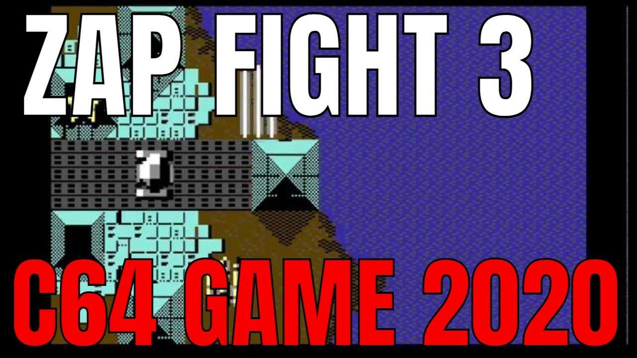 ZAP Fight 3 NEW C64 GAME 2020