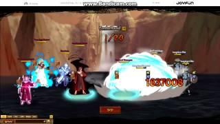 getlinkyoutube.com-Top Kage - Second Tsuchikage Solo + Team Fight Unlimited Ninja Ninja Classic Anime Ninja