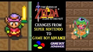 getlinkyoutube.com-Zelda A Link to the Past: Changes from SNES to GBA (10th Anniversary Youtube Remake)