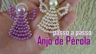 getlinkyoutube.com-NM Bijoux - Anjo de Pérolas - passo a passo
