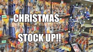 getlinkyoutube.com-WALMART STOCKROOM WWE TOY HUNT! ToysRus Elite Series 37 Wrestling Figure Shopping