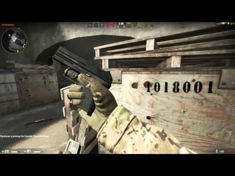 Counter-Strike Global Offensive Beta Footage - 1080p PC - Max settings - CSGO BETA GAMEPLAY de_dust