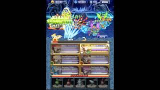 getlinkyoutube.com-Brave Frontier : Trial X4 Gazia Re-run - One Squad