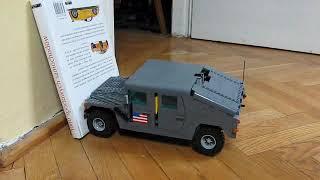 getlinkyoutube.com-Lego Motorized Hummer H1