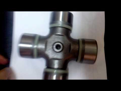 Крестовина кардана 52x147.2 со стопорами Iveco EuroTech/Trakker/Stralis 934038