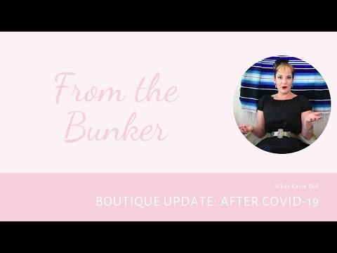 From the Bunker: Are Our Lingerie Boutiques Reopening Soon?
