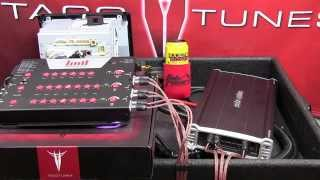 getlinkyoutube.com-Toyota Tacoma add install amplifier to stock entune stereo radio head unit subwoofer