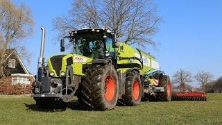 Best sounding beast! | Claas Xerion 3800 Trac VC + Kaweco Double Twin Shift | Slurry injecting 2015