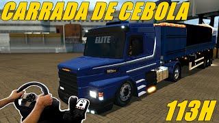 getlinkyoutube.com-EURO TRUCK SIMULATOR 2 - SCANIA 113 NA DE CARRADA CEBOLA,MAPA EAA, VOLANTE G27!!!