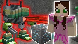 getlinkyoutube.com-Minecraft: MINING ROBOTS CHALLENGE - Custom Mod Challenge [S8E10]