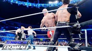 getlinkyoutube.com-Dean Ambrose & Cesaro vs. Seth Rollins & Kevin Owens: SmackDown, July 30, 2015