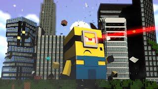 getlinkyoutube.com-Minecraft : OS MINIONS GIGANTES !! - (Vida de Herói #1)