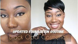 getlinkyoutube.com-Updated Foundation Routine  Black Opal   Carob