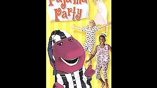 getlinkyoutube.com-Opening To Barney's Pajama Party 2001 VHS