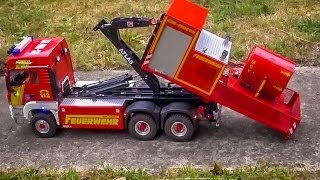 getlinkyoutube.com-R/C firefighter trucks with light and sirene sound! Check this out!