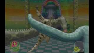 "getlinkyoutube.com-Dinosaur King Arcade scene ""Gorgeous clan - Prosaurolophus"""
