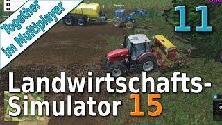getlinkyoutube.com-LS15 Multiplayer #11 Säen und Zuschauerfragen Landwirtschafts Simulator 15 von der Server Farm