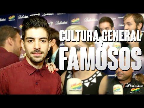 CULTURA GENERAL Y FAMOSOS | Nominados Cuarenta Principales