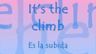 Climb - Miley Cyrus (Letra y Traduccion Español) - YouTube