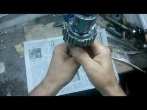 3-х шпоночный вал ОКПП ИЖ 2126 на коленке