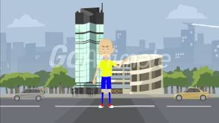 getlinkyoutube.com-Caillou Blows Up Houses and Doesn't Get Grounded