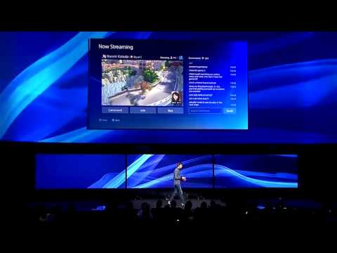 PS4 announced - features revealed at PlayStation Meeting
