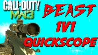 getlinkyoutube.com-MW3 BEAST 1v1 Quick Scope