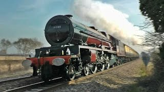 getlinkyoutube.com-Steam Trains at Speed