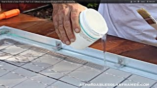 getlinkyoutube.com-How to Build a Solar Panel - Part 3 of 3 (New) encapsulated/sylgard184.Free electricity