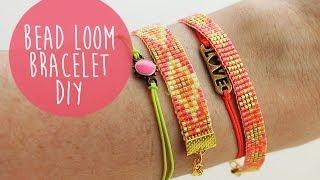 getlinkyoutube.com-DIY Bead Loom Bracelet